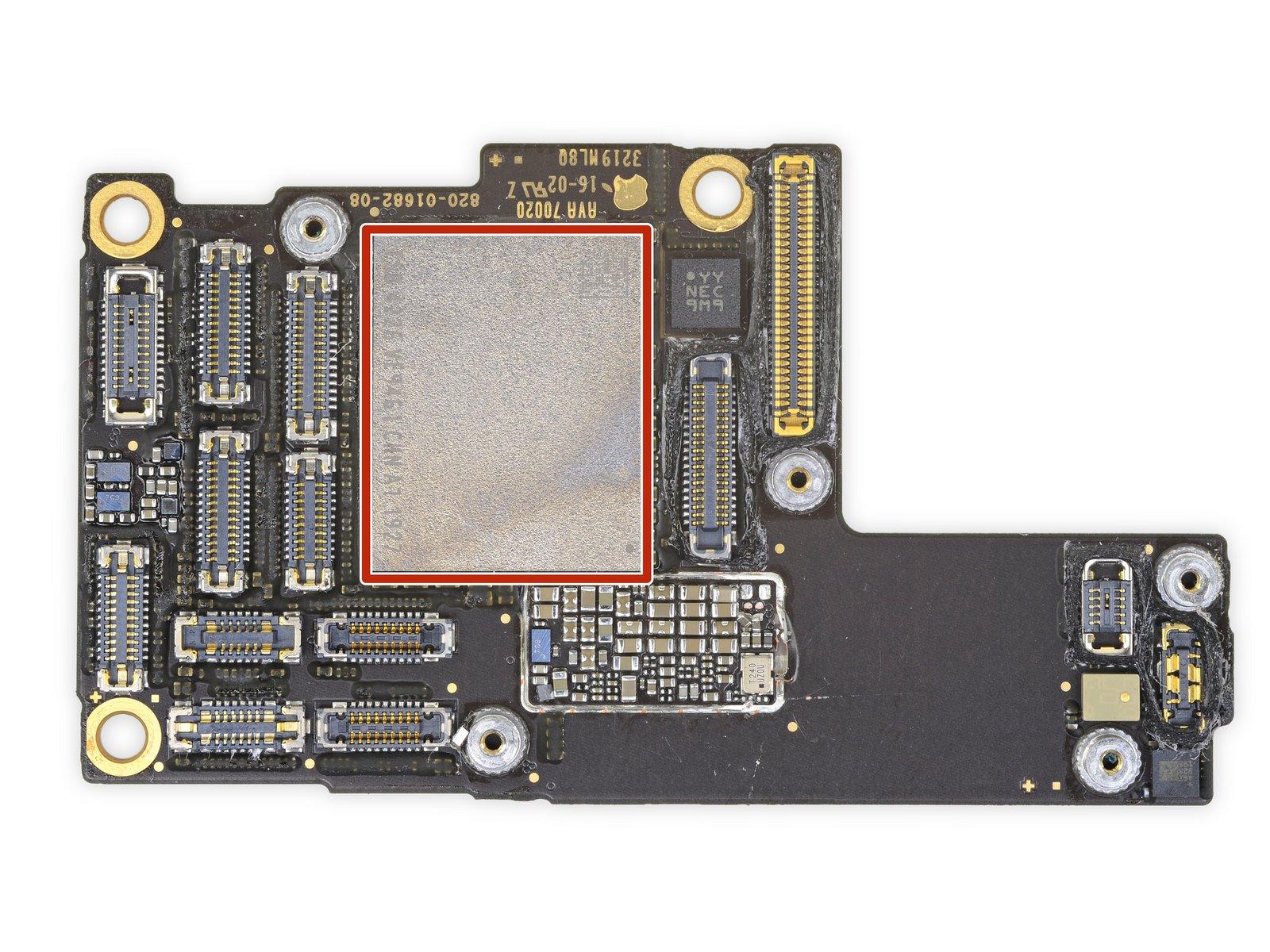 iPhone 11 Pro Max 详尽拆解 双层超小主板的照片 - 31