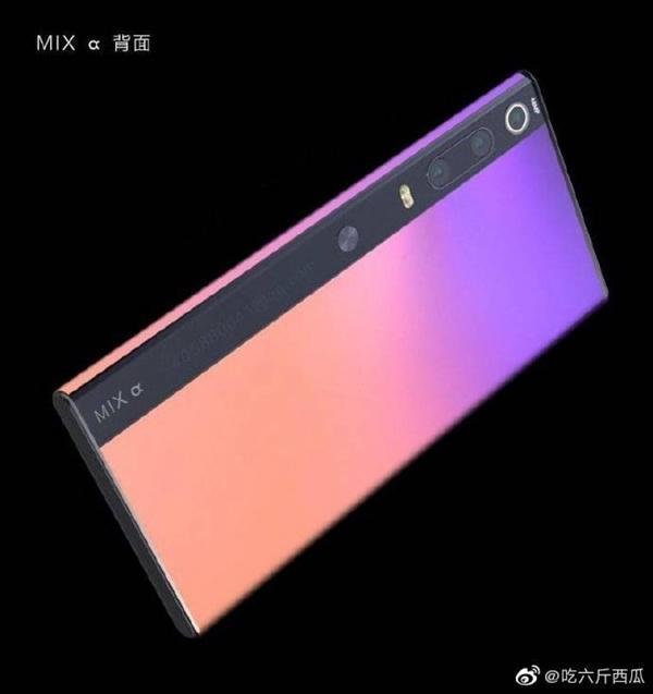 小米MIX Alpha概念渲染图曝光:环绕式正反双屏?的照片 - 3