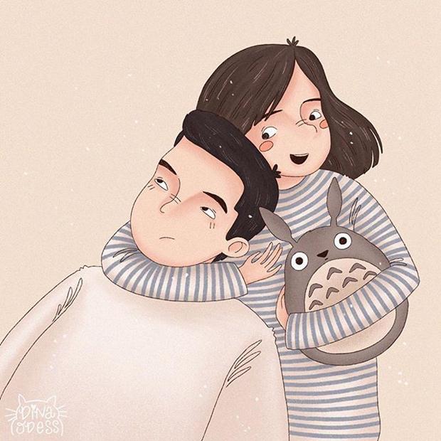 相处过才懂《情侣间的无聊甜蜜日常》,热恋以后的平淡期才是最温暖的时光!
