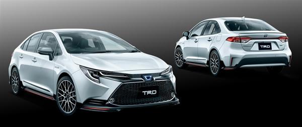 搭配18寸運動輪圈 卡羅拉發布TRD改裝套件