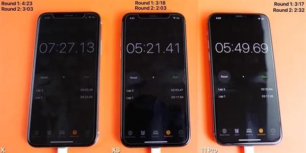 iPhone X/XS/11 Pro实机运行速度测试:A13表现尴尬的照片 - 3