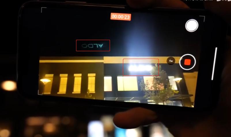 """镜头设计问题?iPhone 11系列夜间拍照有""""鬼影""""的照片 - 1"""