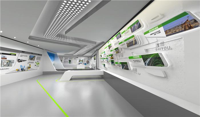 智慧城市展馆展厅设计