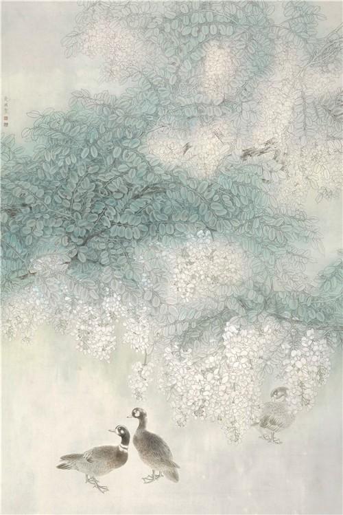 中国书画形象人物:著名画家王爱国