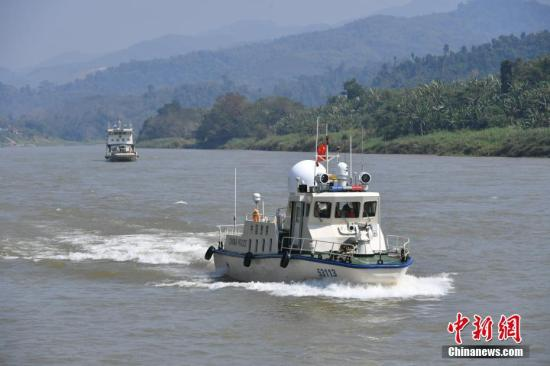第86次中老缅泰湄公河联合巡逻执法启动