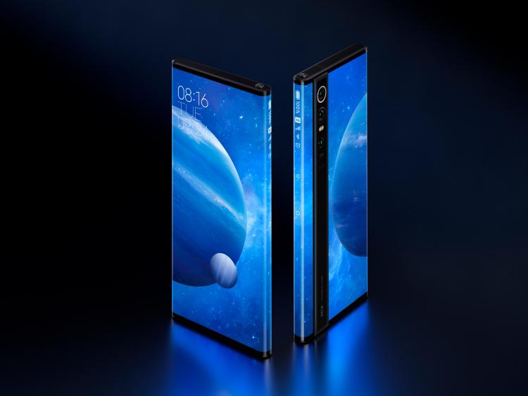小米正式发布MIXAlpha概念机:屏占比180.6%的环绕屏+1亿像素摄像头