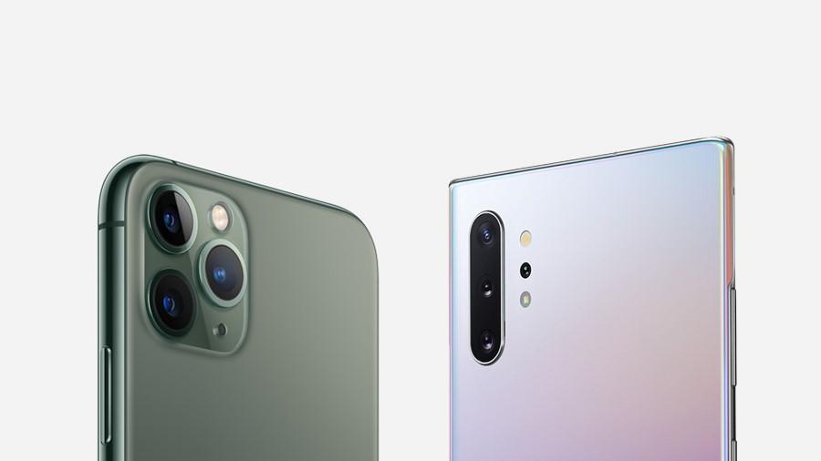 Note10系列 VS iPhone11系列 2019年度旗艦大戰三星贏了