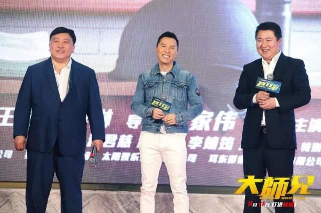 内地票房仅收1.46亿,55岁甄子丹尽力了,华语动作片真的没落了