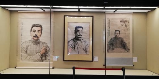 沿着鲁迅的道路——蒋兆和艺术作品展在京开幕