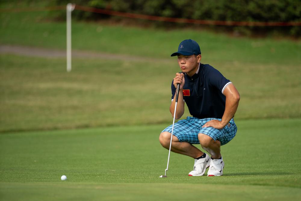 林鈺鑫:滿意首日成績將繼續保持自己的比賽風格