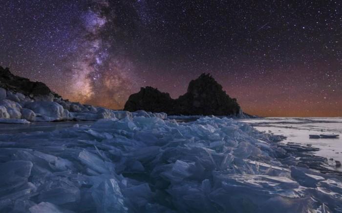 """微软推出冬天主题的""""贝加尔湖""""免费Win10壁纸包的照片 - 3"""