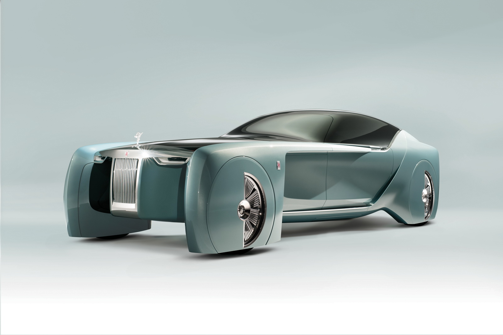 劳斯莱斯的首款全自动电动汽车 103EX概念车