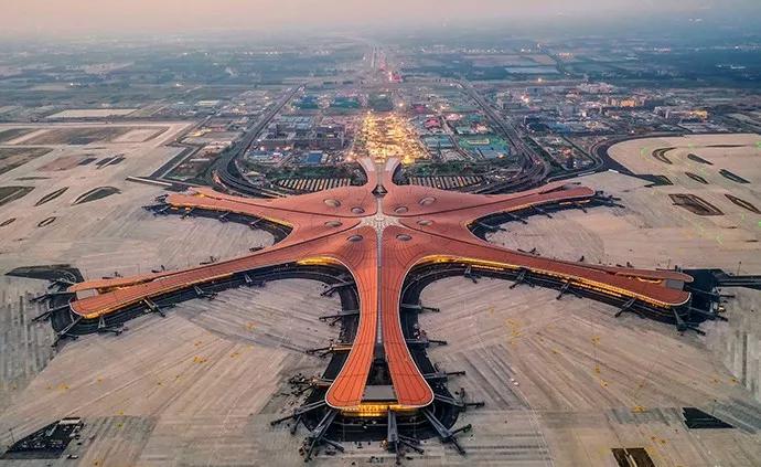 高颜值与黑科技并存!北京大兴国际机场究竟有多牛?