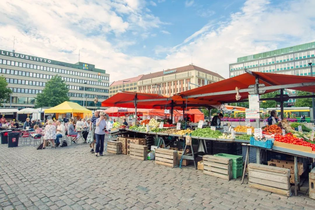 北欧芬兰跳蚤市场