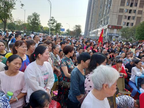 中海社区庆祝中华人民共和国成立70周年文艺汇演暨垃圾分类宣传活动-中国传真