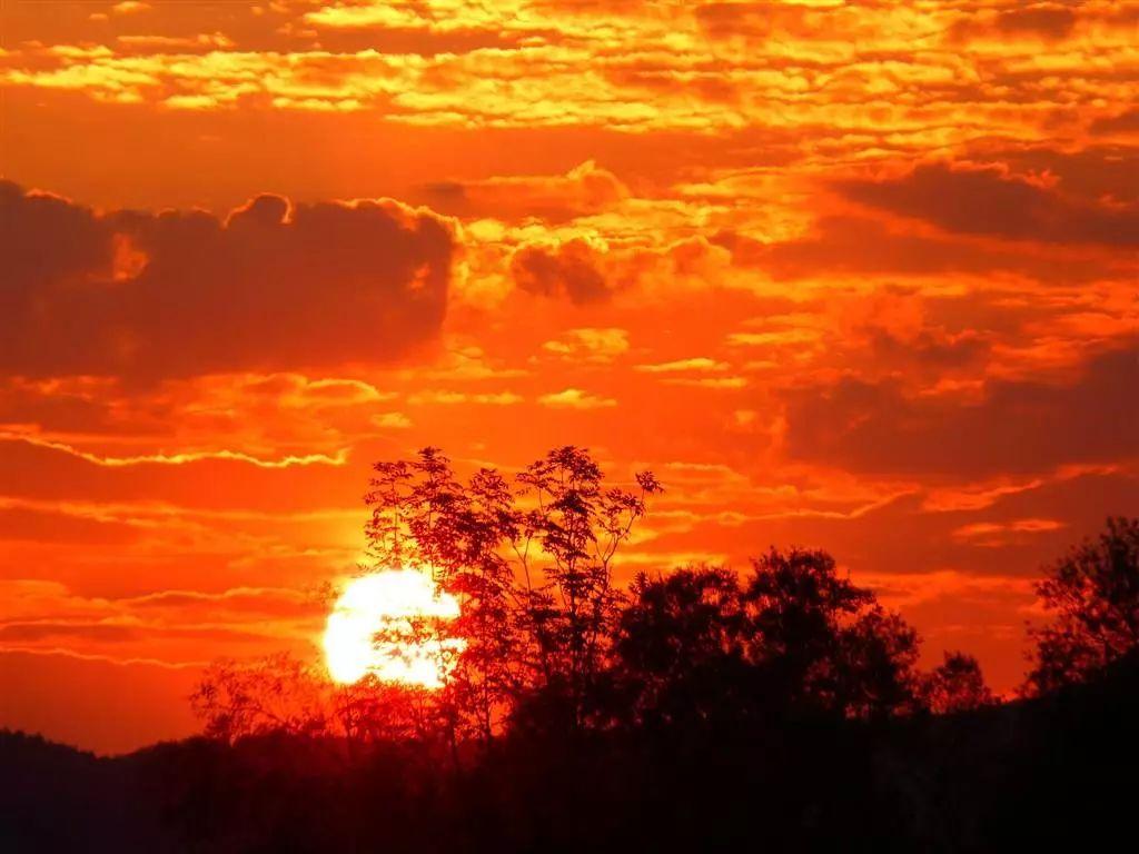 夕阳西下的唯美句子 适合发日落的朋友圈
