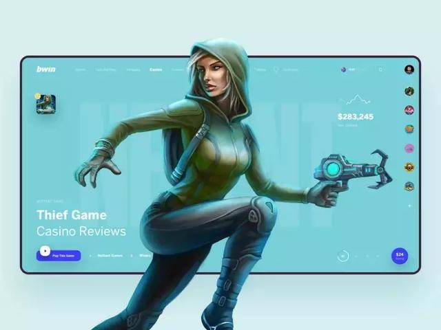 游戏头图网页设计