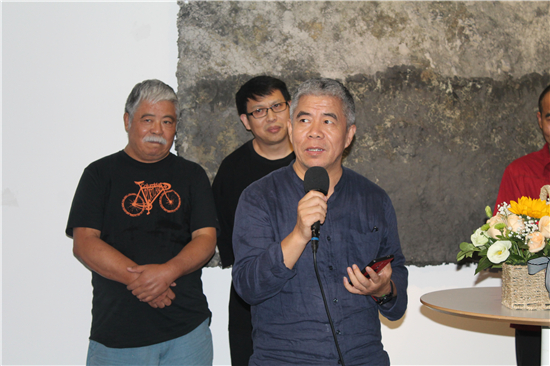 荒原――赵强作品展在北京而已美术馆开幕