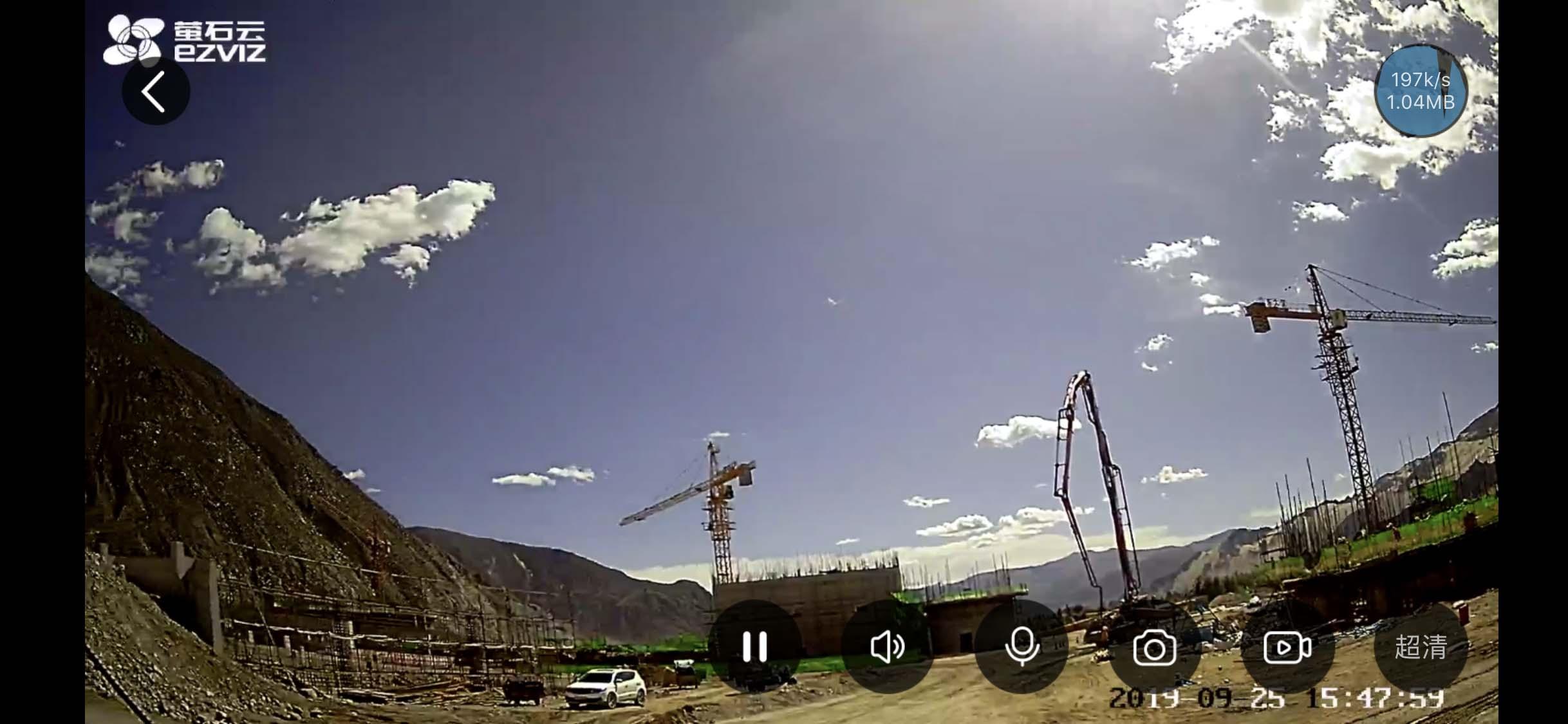 无线高清视频监控效果