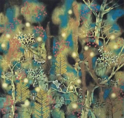 解读当代画家吕广军之独特艺术