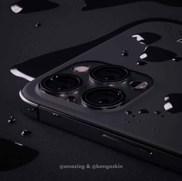 iPhone 12 Pro假想渲染图:干掉刘海、外观回归iPhone 4的照片 - 3