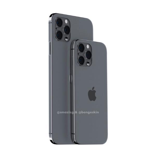 iPhone 12 Pro假想渲染图:干掉刘海、外观回归iPhone 4的照片 - 5