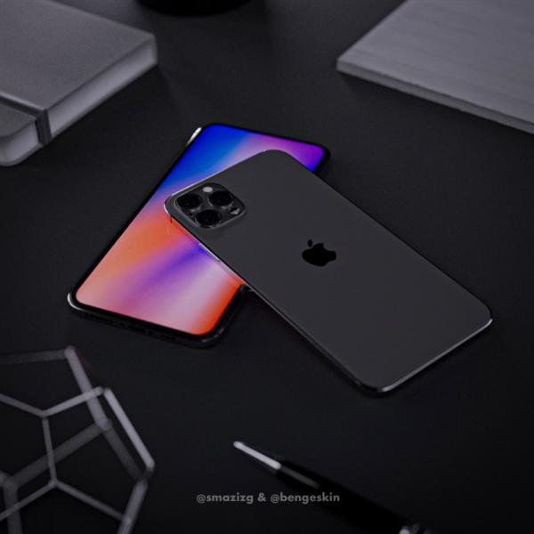 iPhone 12 Pro假想渲染图:干掉刘海、外观回归iPhone 4的照片 - 2