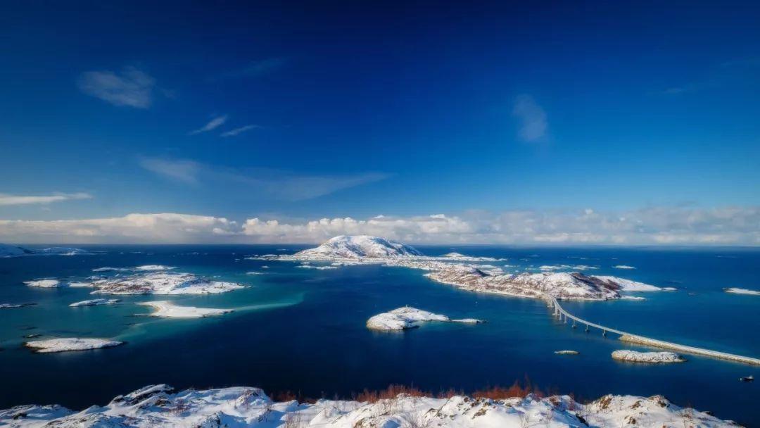 北欧旅游夏天岛