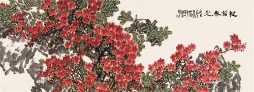 来自于天地正气的大美:著名画家庄寿红献礼建国70周年