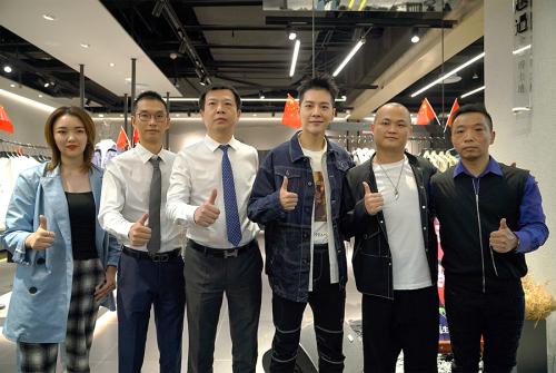 徐海乔主持写生十周年武汉大洋双概念店开业盛典