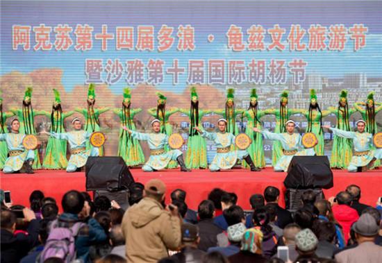 """今年沙雅胡杨节主打""""特种旅游牌"""""""