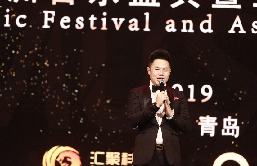 原创歌手姜蓉蓉出席2019亚洲音乐盛典暨亚洲国际时尚小姐启动仪式