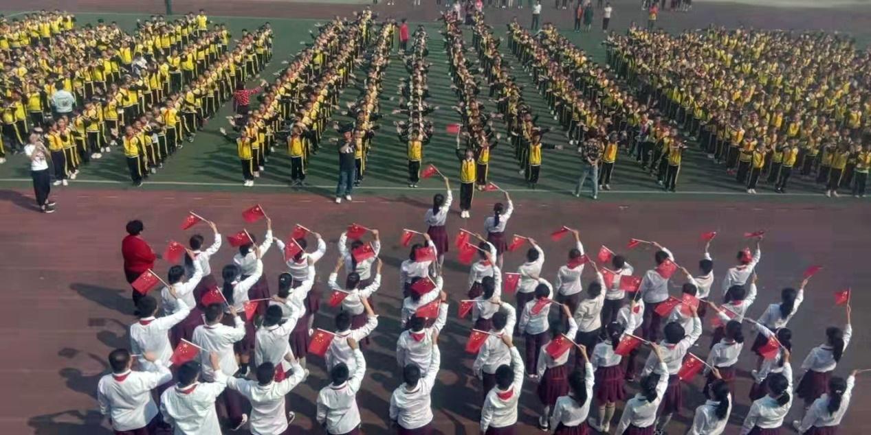 大连三十里堡第二小学庆祖国七十华诞争做新时代好少年活动