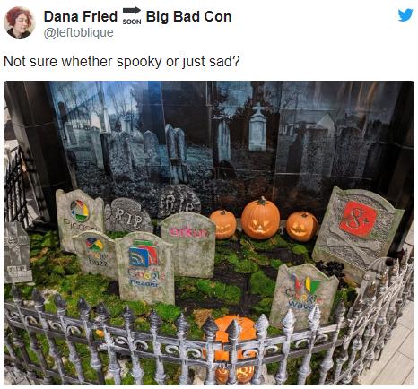 谷歌终于为Google Reader阅读器立了一块墓碑的照片 - 2