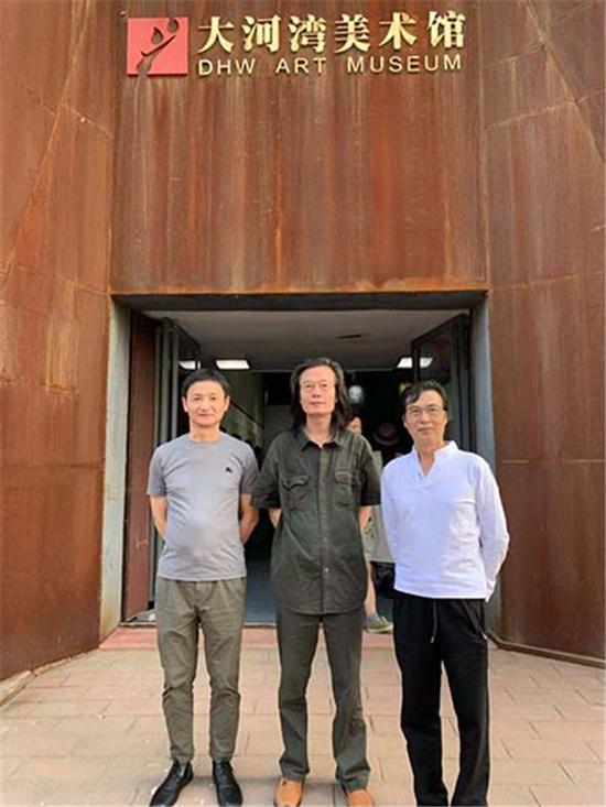 陈世君个展在北京大河湾美术馆开幕