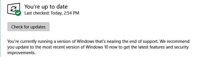 Win10 v1803即将停止支持 开始推动用户更新到下一个版本的照片 - 2