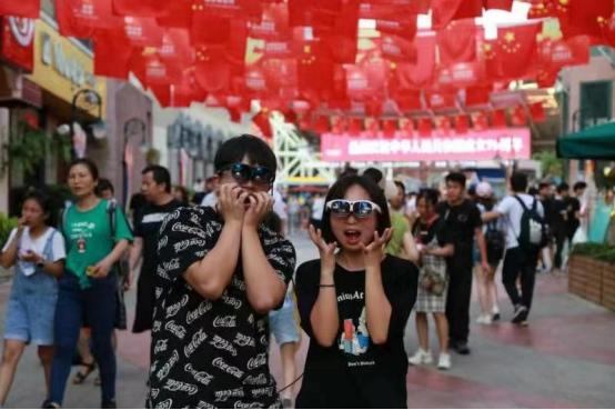 国庆假期余额不足,深圳欢乐谷潮玩节AR沉浸式新玩法帮你充值!