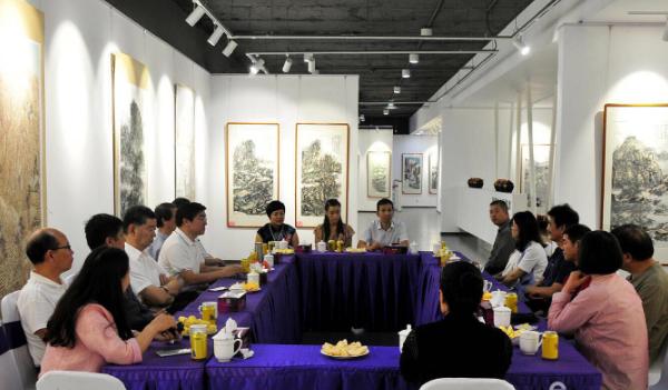 文汇艺术研究院首届中国画创作课题班开班、写生、展览圆满成功