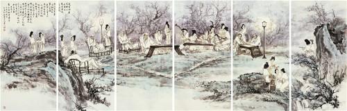 中国书画形象人物,著名画家孙敬会