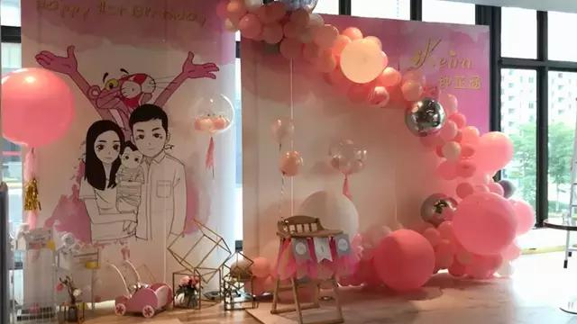 氣球裝飾教程圖片,簡單裝飾在墻上的氣球方法