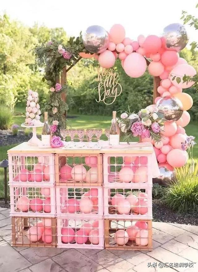 花式氣球的26種編法圖片分享!氣球這么做花樣簡單好看