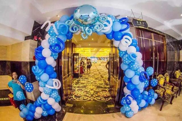 氣球生日宴會怎么布置?生日宴會氣球布置圖片教程
