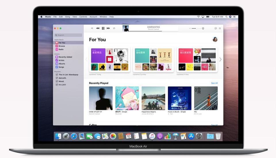 苹果发布macOS Catalina正式版:新特性多图抢先看的照片 - 2