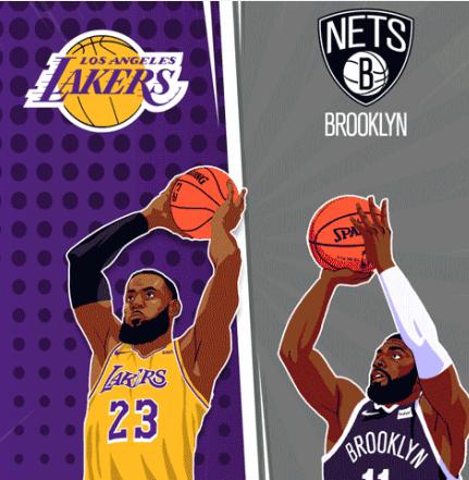 原創不取消!NBA官微預告19點半湖人VS籃網網友回懟:20點國足VS關島