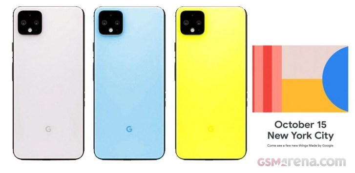 爆料稱谷歌Pixel4系列將有天藍、黃色等全新配色