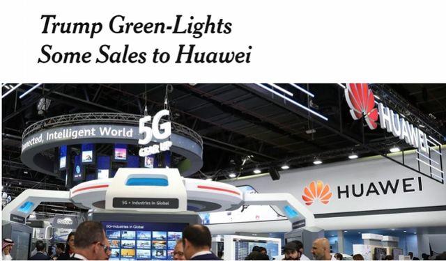 特朗普向华为开绿灯?美国企业或可绕开禁令恢复部分供货的照片 - 2