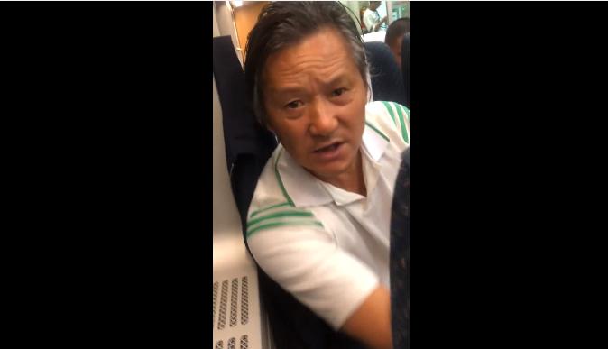 高铁外放男要求叶璇道歉:视频影响很大 让儿女脸上无光