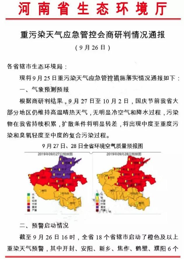 河南通報一批重污染預警期間排污量不降反升企業名單安鋼集團下屬公司在列