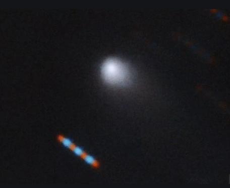 """研究稱星際彗星2I/Borisov的""""尾巴""""將攜帶有毒氣體"""