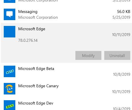 Win10已无法卸载基于Chromium的Microsoft Edge稳定版的照片 - 2